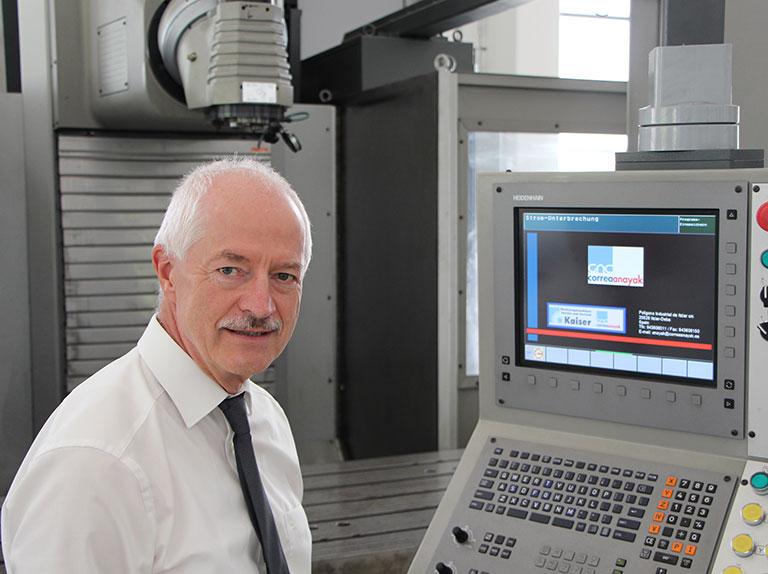 Eberhard Kaiser Geschäftsführer Werkzeugmaschinen Service Kaiser GmbH