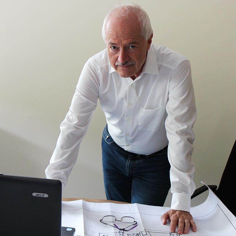 Geschäftsführer Eberhard Kaiser
