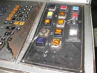 Modernisierung Werkzeugmaschine
